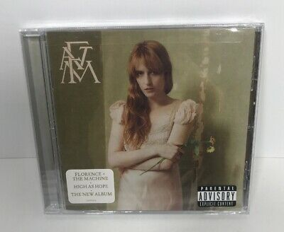 "Brand New FLORENCE + THE MACHINE ""High As Hope"" [PA] Explicit 2018 CD *NEW*"