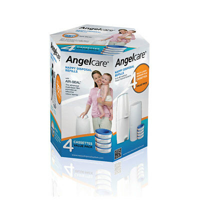 AngelCare - 4 Pack Refill Cassettes (Liner)