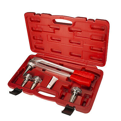 """IWISS F1960 PEX Pipe Expansion Manual Tool Kit With 1/2"""" To 1"""" Expansion Heads"""