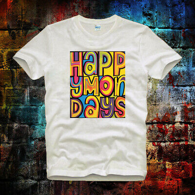 Happy Mondays Indie Dance Madchester Rave Bez Ryder Unisex Ladies T Shirt 254b