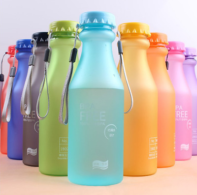 Portable 500L8 Water Bottle Hiking Cycling Water Drinking Bottle Cup BPA Free L8
