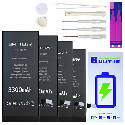 For IPhone 6 6S 6P 6SP 7 7P Replacement High-Capacity Battery 1 Year Warranty