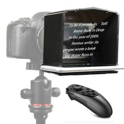 Bestview T1 Portable Phone Teleprompter fr Interview Speech Video Romote Control