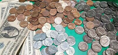 ✯ESTATE SALE OLD US COIN ✯ Silver Certificate ✯ 90% SILVER ✯ Lincoln Wheat Cent+