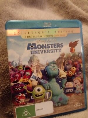 Monsters University Blu-ray Collectors Edition - 2 Disc [New & UNsealed]