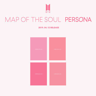BTS-[Map Of The Soul:Persona]Random CD+Poster+Book+Card+Film+PreOrder+etc+Gift