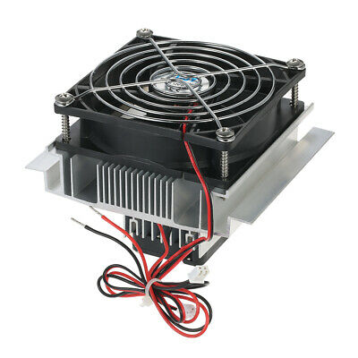 DC 12V 6A Thermoelectric Peltier Refrigeration Radiator Cooling Fan System L5E2