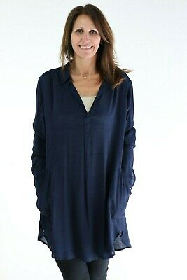 ONLY Womens 15167603BLUE Blue Polyester Shirt