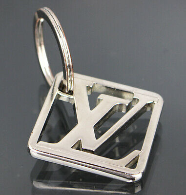 Louis Vuitton Initial Logo Silver-toned Brass Key Holder M61000 44800 from Japan
