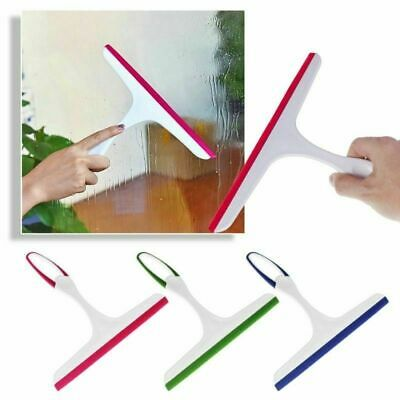NEW Window Squeegee Glass Cleaning Wipre Rubber Blade Shower Screen Washer Wiper