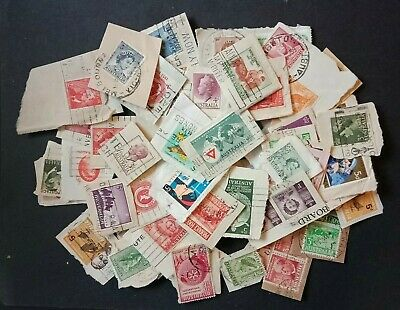 Australian Pre Decimal Stamps Used in fine condition On paper