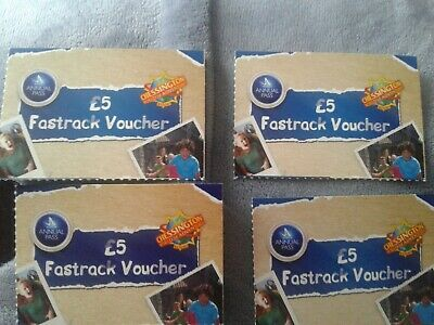 4 Fast Track Passes Worth £20 For Chessington World Of Adventures