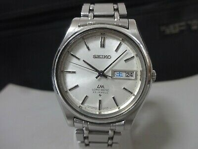 c7f7b396e27 Vintage 1969 SEIKO Automatic watch [LM, LORD MATIC] 23J 5606-7070 Original