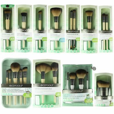 EcoTools Vegan Makeup Brushes Bamboo Cosmetic Brush Eye Face Contour Blend Buff