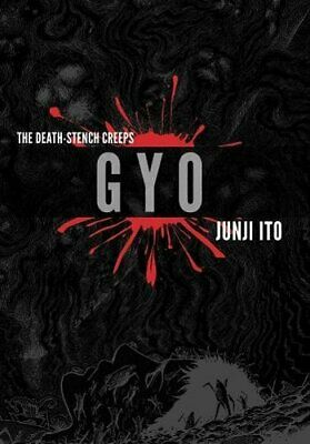 Gyo 2-in-1 Deluxe Edition by Junji Ito New Hardback Book