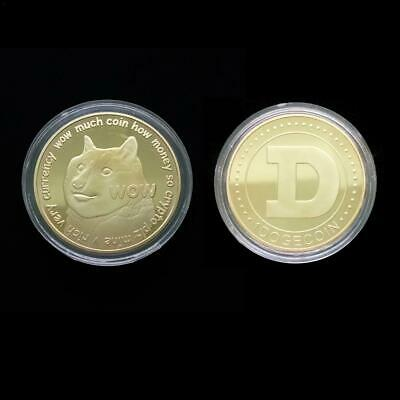 Coin Souvenirs Gold plated iron Coin Dog Pattern Commemorative Coin Collectible