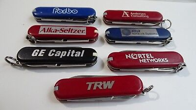 Victorinox Classic and SD 58 mm Swiss Army Knives with famous ads