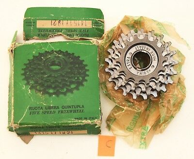 Nos Regina Gran Sport Freewheel 5 Speed Tipo Corsa Nib Sporting Goods Bicycle Components & Parts