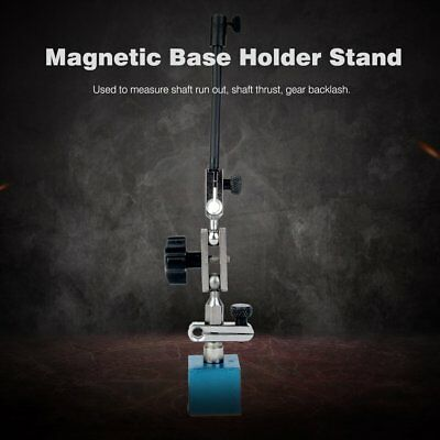 0-10mm Precision Lever Dial Test Indicator With Magnetic Base Holder Stand#X
