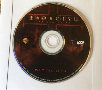 👀L@@K❗️Exorcist: The Beginning (2004 Widescreen) DISC ONLY ~ MINT & FAST SHIP❗️