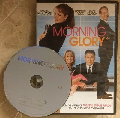 👀L@@K❗️Morning Glory (DVD, 2011) DISC ONLY ~ VERY GOOD ~ FAST SHIP❗️
