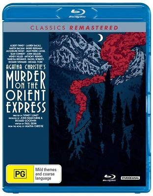 Murder On The Orient Express Blu-Ray : NEW