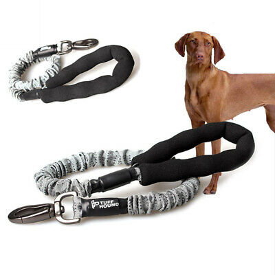 Retractable Dog Lead Power Buffer Leash Nylon Rope Running Bungee for Harness ML