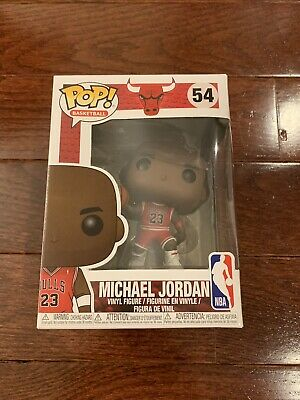 Funko Pop! Michael Jordan #54 Chicago Bulls NBA Not Target Fanatics Exclusive