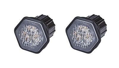 Pair of LED Autolamps recess mount LED amber flashing warning light  ECE R65