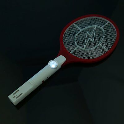 Rechargeable Electronic Mosquito Insect Bug Fly Zapper Swatter Net Racket DR