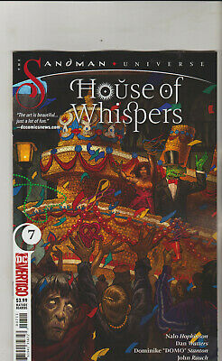Dc Comics House Of Whispers #7 May 2019 1St Print Nm