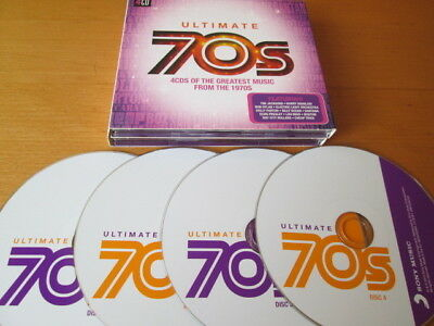 Ultimate 70S (2015) 4-Cd: Sweet Terry Jacks Elo Baccara Hues Corp Nr Mint