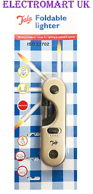 Tala Bbq Gas Cooker  Folding Lockable Refillable Lighter