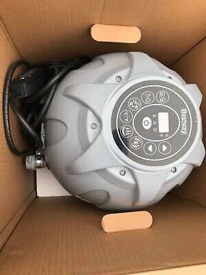 Lay Z Spa Grey Miami Vegas Tropez Airjet Pump - Digital Heater