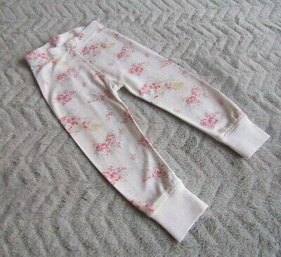 Baby Girls 100% Cotton Floral Joggers/Jogging Pants (9-12 Months) - By Next