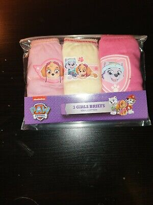 Paw patrol girls Official Briefs Cotton age 18-24 months