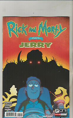 Oni Press Rick & Morty Presents Jerry #1 March 2019 Variant A 1St Print Nm