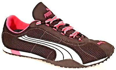 1819c4e89e521a PUMA FITNESS ORTHOLITE Black and Hot Pink Fitness Sneakers Shoes Women s  Size 10