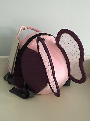 Bnwt Littlelife Animal Toddler Daysack Backpack Reins Pink And Purple Butterfly