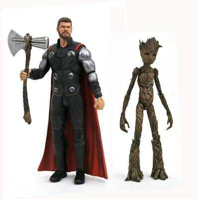 Marvel Avengers: Infinity War Thor & Groot 7 inch Scale Action Figure