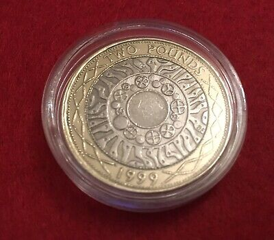 Rare 1999 Technology £2 Pound Coin Great Condition For Your Collection