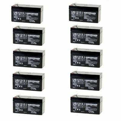 PowerStar New Replacement 12V 1.3Ah Battery for ps-1212 ub1213 pc1212 lc-r121r3pu
