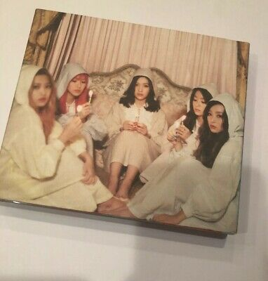RED VELVET [THE VELVET] 2nd Mini Album CD+48p Photo Book (No Photocard) KPOP