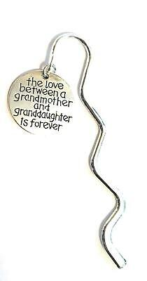 The Love Between A Grandmother and Granddaughter is Forever Mini Bookmark