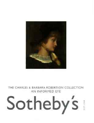 Sotheby's The Charles And Barbara Robertson Collection An Informed Eye