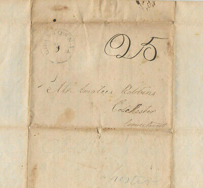 1813 Silas Jones Charlestown VA Dr Amatus Robbins Colchester CT Medical Doctor