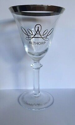 Princess/ Lady Diana Commemorative Wine Glass From Althorp