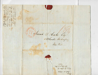 Newburyport CT 1836 Dr John C Warren Flagg Josiah Hale Esq Medical Doctor
