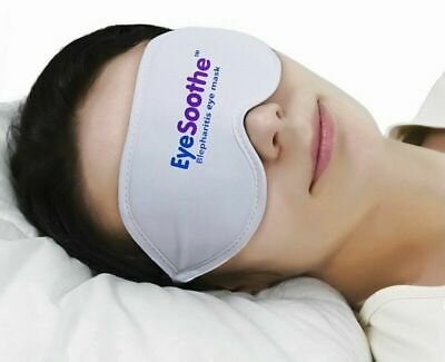 EyeSoothe Blepharitis Eye Mask With Heated Gel Pack and Hygienic Storage Bag