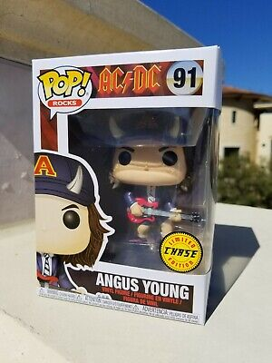 Funko POP Rocks AC/DC Angus Young #91 Chase Limited Edition   (0312)
